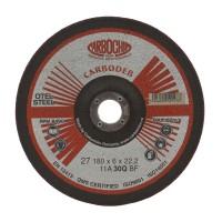 Disc polizare otel, Carbochim  11ABACH27E, 180 x 22.2 x 6 mm