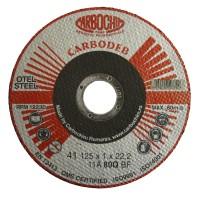 Disc debitare otel, Carbochim 11ABACH1TRS, 125 x 22.2 x 1 mm