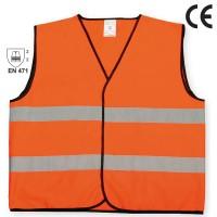 Veste semnalizare cu banda reflectorizanta, Reflex 9194, marimea L, portocaliu