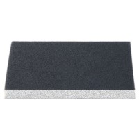 Burete abraziv pentru slefuire vopsea / lac / lemn / chit, Klingspor SW 502, 125 x 100 x 10 mm, granulatie 220