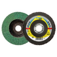 Disc lamelar frontal, multistrat, pentru inox, Klingspor SMT 636 Supra, 125 x 22.23 mm, granulatie 40
