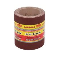 Rola panza abraziva pentru lemn, metale, constructii, Carbochim PESK, granulatie 80, rola 5 m x 120 mm