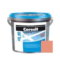 Chit de rosturi gresie si faianta Ceresit CE 40, pink, interior / exterior, 5 kg