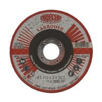 Disc debitare otel, Carbochim 11A30Q4B471TRS, 115 x 22.2 x 3 mm