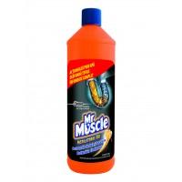 Solutie pentru desfundarea tevilor Mr. Muscle 1000 ml