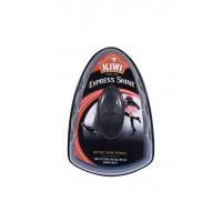 Burete silicon pantofi Kiwi Express Shine, negru, 6 ml
