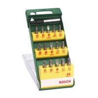Set 15 accesorii pentru insurubare, Bosch, 2607019453