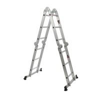 Scara aluminiu articulata 4 x 3 trepte