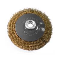 Perie circulara, pentru lustruire lemn / fier, Lumytools LT06972, diametru 100 mm