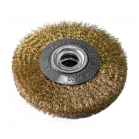 Perie circulara, pentru polizor de banc, Lumytools LT06980, diametru 200 mm