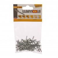 Nituri pop, aluminiu, Lumytools LT70400, 4 x 6.4 mm, 50 bucati