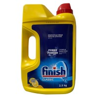 Detergent pudra Finish Calgonit Regular, pentru masina de spalat vase, 2.5 kg
