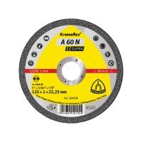 Disc debitare aluminiu, Klingspor A 60 N Supra, 125 x 22.23 x 1 mm