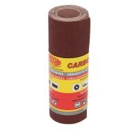 Rola panza abraziva pentru lemn, metale, constructii, Carbochim PESK, granulatie 100, rola 1 m x 120 mm