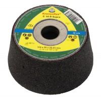 Disc tip oala pentru slefuire beton, Klingspor C 16 R Supra, 110 x 22.23 mm