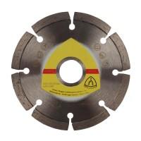 Disc diamantat, cu segmente, pentru debitare materiale de constructii, Klingspor DT 300 U Extra, 115 x 22.23 x 1.6 mm