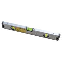 Nivela cu bula, LT16551, cu 3 indicatori, din aluminiu, 400 mm