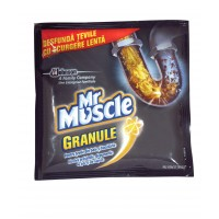 Granule pentru desfundarea tevilor Mr. Muscle 50 g