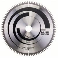 Disc circular, pentru aluminiu / lemn / plastic, Bosch 2608640451, 254 x 30 x 2.5 mm