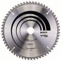 Disc circular, pentru lemn, Bosch 2608640436, 254 x 30 mm