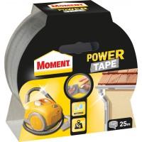 Banda adeziva, pentru reparatii, din polietilena si panza, argintiu, Moment Power Tape, 4.8 cm x 25 m
