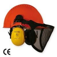 Casca de protectie Marvel Boscaiolo, HDPE + polietilena, portocaliu