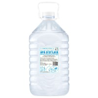 Apa distilata, flacon pet, 5 L