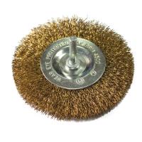 Perie circulara, cu tija, pentru fier / lemn, Lumytools LT06986, diametru 100 mm