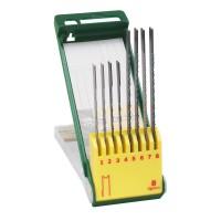 Set 8 panze fierastrau, pentru lemn / metal / material palstic,  Bosch 2607019459