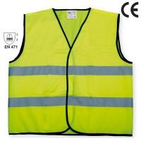 Veste semnalizare cu banda reflectorizanta, Neon 9195, marimea L, galben