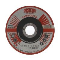 Disc debitare otel, Carbochim 11ABACH1TRS, 115 x 22.2 x 1.5 mm