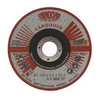 Disc debitare otel, Carbochim 11ABACH1TRS, 125 x 22.2 x 2.5 mm