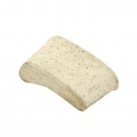 Piatra rinichi, abraziva, pentru slefuit beton / marmuta / granit, Carbochim 21C-20R, 120 x 45 x 65 mm