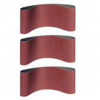 Banda abraziva ingusta, pentru lemn / metale, Klingspor LS 309 XH, F5, 75 x 457 mm, granulatie 100