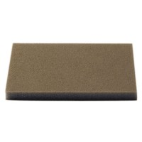 Burete abraziv pentru slefuire vopsea / lac / lemn / chit, Klingspor SW 501, 123 x 96 x 12.5 mm, granulatie 220