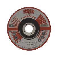 Disc debitare otel, Carbochim 11ABACH1TRS, 125 x 22.2 x 3 mm
