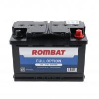 Baterie auto Rombat full option 12V, 77Ah, 600 A, 27.8  x  17.5  x  19 cm