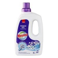 Detergent de rufe Sano Maxima Power Gel Mountain Fresh, 60 spalari, 3 L