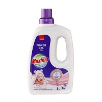 Detergent de rufe gel Sano Maxima Baby, 60 spalari, 3 L