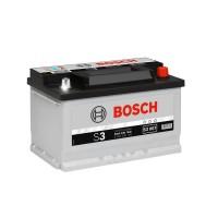 Baterie auto Bosch S3 007 12 V, 70 Ah, 640 A, 27.8 x 17.5 x 17.5 cm