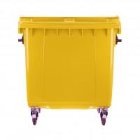 Eurocontainer colectare selectiva, polietilena, 1100 l