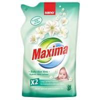 Rezerva balsam de rufe Sano Maxima Baby Aloe Vera, parfum aloe vera, 1 L