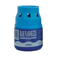 Odorizant pentru bazin wc baie Sano Blue Flash 00, albastru, 200 g