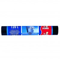 Saci menajeri / gunoi Fino LD, negru, 120L, 70 x 110 cm, 10 buc