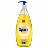 Detergent lichid pentru vase Sano Spark, aroma lamaie, 1 l