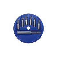 Biti pentru insurubare + prelungitor magnetic, Lumytools LT66080, set 6 bucati