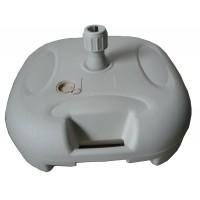 Suport umbrela ZR2751-A, PVC, forma patrata, rezistenta UV, 25 l, 43 x 43 x 25 cm