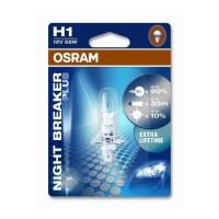 Bec auto Osram H1 Night Breaker, 55 W, 12 V