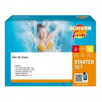Set de baza pentru intretinere apa piscina, Summer Fun