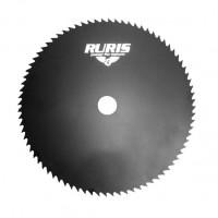 Disc motocoasa pentru tuns iarba, Ruris, otel, 80 dinti, D 250 mm